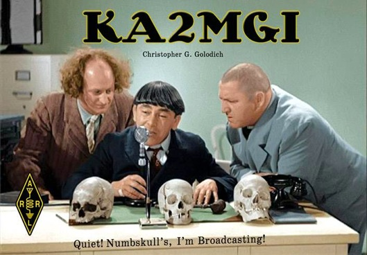 Radio amateur qsl cartes
